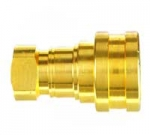 ISO B Brass NPT Socket